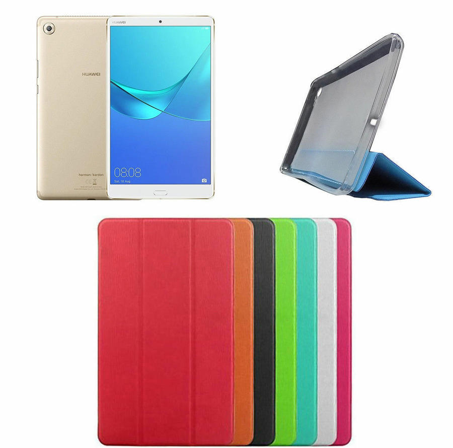 SMART COVER SLIM HUAWEI MEDIAPAD M5 8.4 POLLICI CUSTODIA TABLET PROTEZIONE
