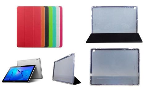 COVER CUSTODIA CASE SLIM PER HUAWEI MEDIAPAD M3 LITE 10 POLLICI CUSTODIA TABLET