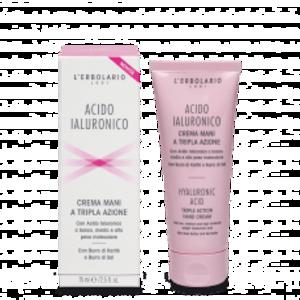 L'Erbolario - Acido ialuronico Crema mani a tripla azione