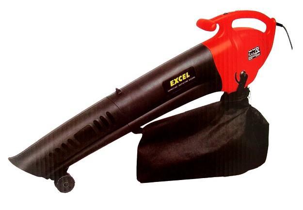 Aspiratore Soffiatore Elettrico per Foglie Giardino EXCEL SF2400 potenza 2500W