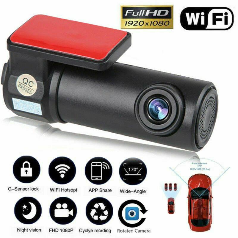 Auto Car Telecamera WIFI 1080P Full HD DVR Notturna Videoregistratore Dash Cam