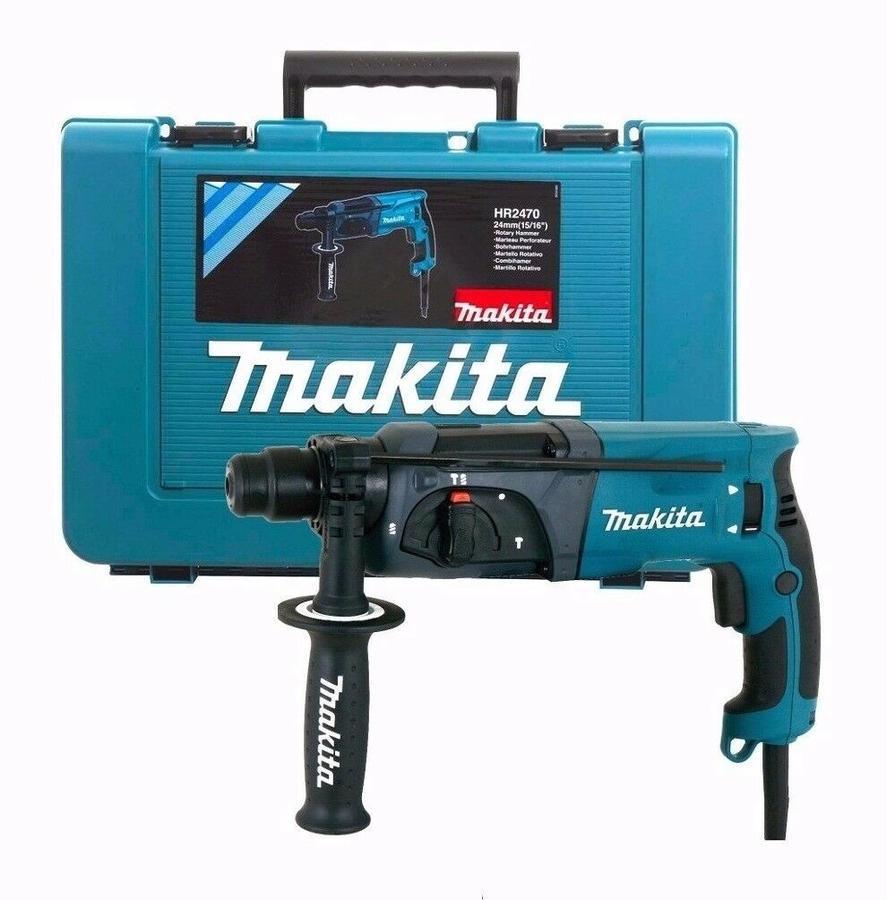 Tassellatore MAKITA HR2470 a 3 funzioni 780W ATTACCO SDS-PLUS con valigetta