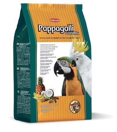 Padovan Grandmix 2 KG Mangime Per Pappagalli Amazzone Cenerino Cacatua Ara