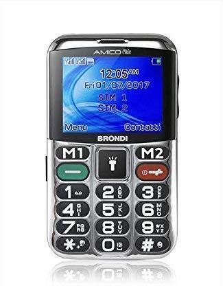BRONDI cellulare Amico Chic NERO