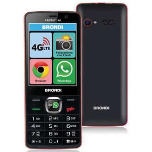 BRONDI cellulare Energy 4G + Whatsapp