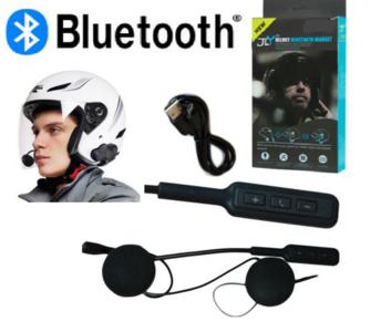 INTERFONO BLUETOOTH IMPERMEABILE CASCO MOTO HEADSET MP3 MICROFONO AURICOLARE