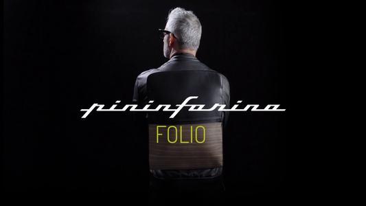 PININFARINA FOLIO WORK BAG CARBONIO