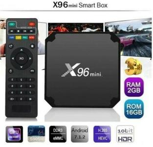 TVBOX X96 MINI S905W 2GB RAM 16GB Smart Android 7.1 Nougat KODI 4K IPTV 5CORE