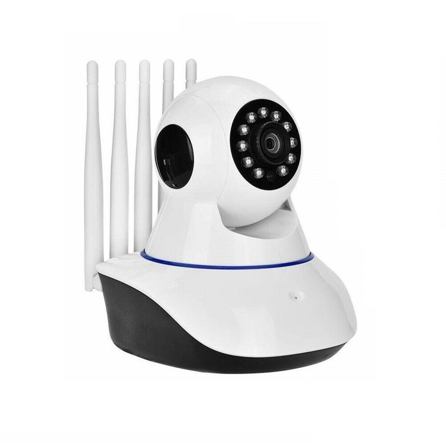 TELECAMERA IP CAM WIFI HD 1080P WIRELESS LED 5 ANTENNE 2MP IR MOTORIZZATA