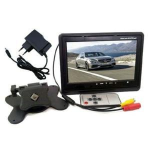 """MONITOR LCD 7"""" CON BASE REGOLABILE TFT TV AUTO CAMPER POGGIATESTA STAND"""