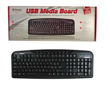 XTREME tastiera usb PS3/PC 34623 NERA