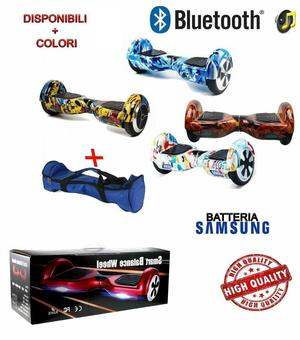 Hoverboard Monopattino Scooter Elettrico Smart Balance Wheel 2 Ruote 6,5