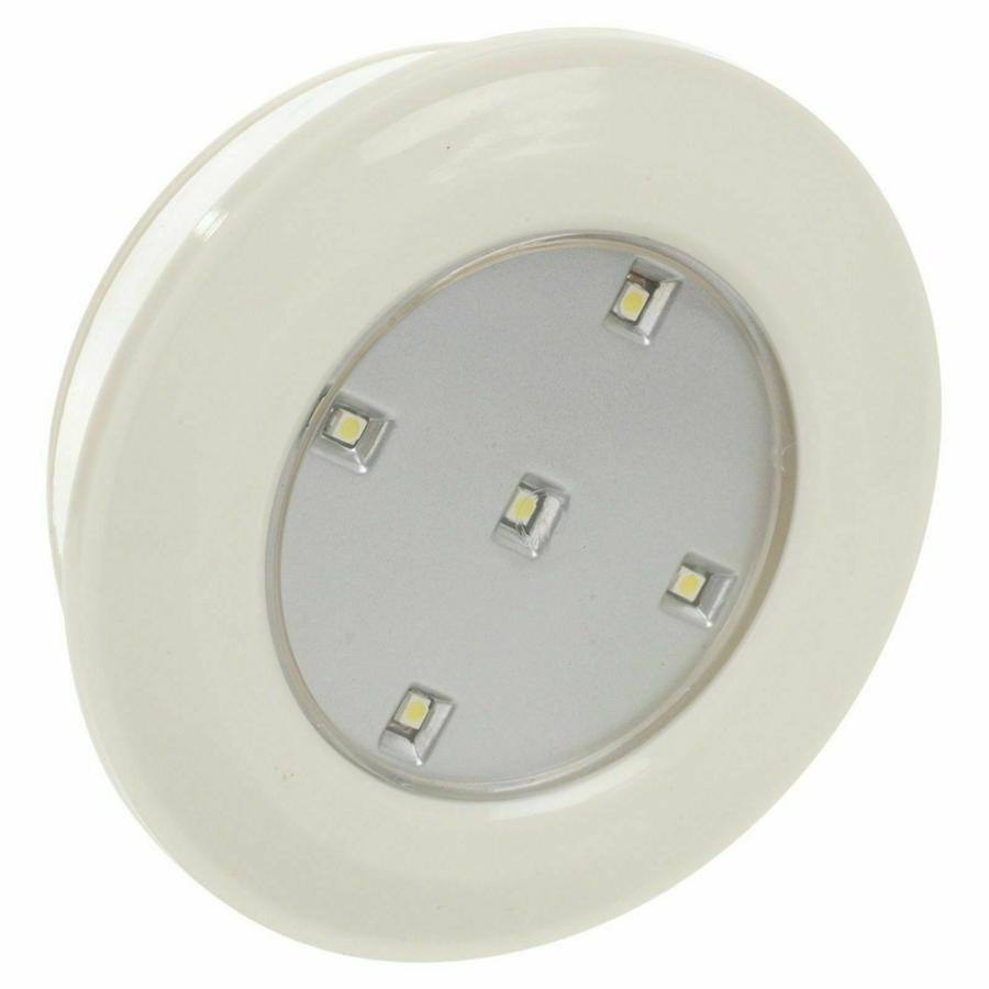 3 FARETTI CONTROLLO REMOTO ARMADIO LAMPADA TELECOMANDO LUCE 5 LED WIRELESS