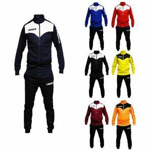 Legea Fitness Tuta Allenamento da Uomo calcio Palestra Colori Modello Peru'