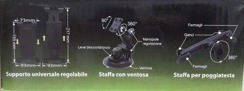 SMG Suptab Supporto Universale per Cellulari, Tablet, Navigatori, eBook