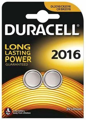 DURACELL DL2016 BATTERIA BL2 LITHIUM - CONFEZIONE DA 10, BLISTER DA 2