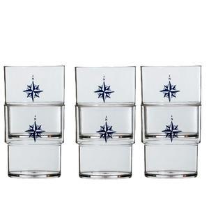 Bicchiere Impilabile Infrangibile serie NORTHWIND di Marine Business set 6 pezzi - Offerta di Mondo Nautica 24