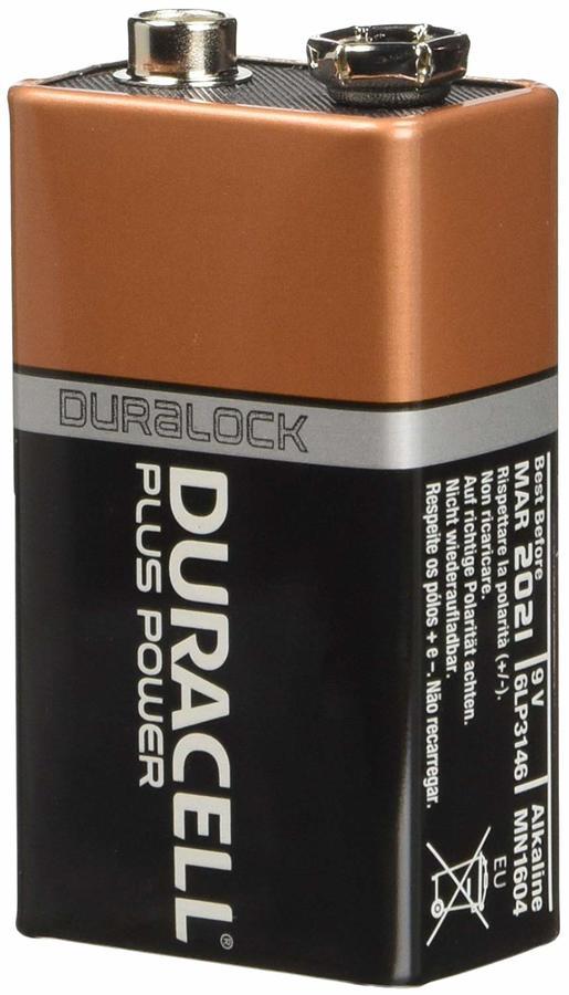 DURACELL MN1604 9V PLUS POWER - CONFEZIONE DA 10