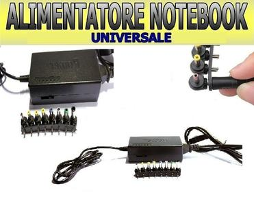 ALIMENTATORE UNIVERSALE 120W NOTEBOOK PC TOSHIBA COMPAQ HP SONY ASUS ACER