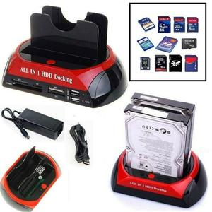 "DOCKING STATION PER HARD DISK ALL IN 1 SATA IDE 3,5"" 2,5 PLAYER HDD BOX CASE"