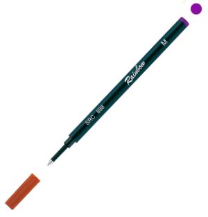 Refill Raimbow Roller corpo plastica   inchiostro colore violetto SRC 888