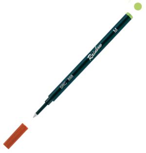 Refill Raimbow Roller corpo plastica  inchiostro colore verde chiaro SRC 888