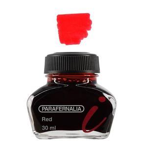 Inchiostro 30 ml in flacone di vetro - inchiostro di colore Rosso