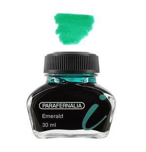 Inchiostro 30 ml in flacone di vetro - inchiostro di colore Verde