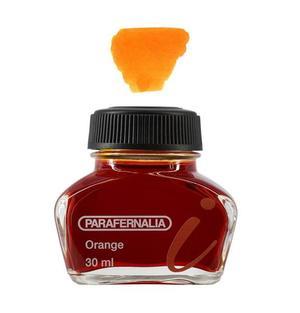 Inchiostro 30 ml in flacone di vetro - inchiostro di colore Arancione