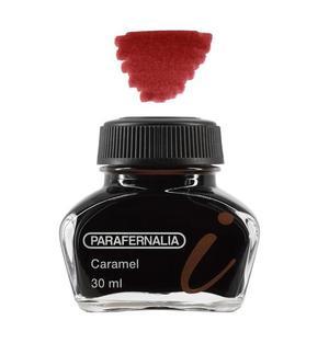 Inchiostro 30 ml in flacone di vetro - inchiostro di colore Seppia