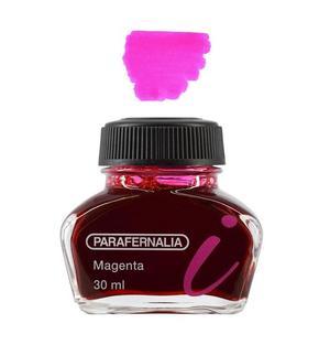 Inchiostro 30 ml in flacone di vetro - inchiostro di colore Magenta