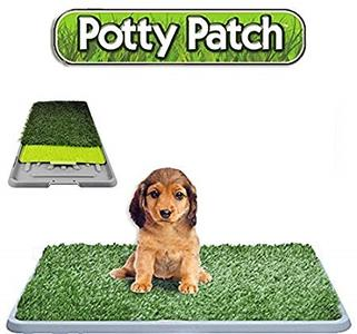 LETTIERA WC LAVABILE CANE 3 STRATI POTTY PATCH DOG TOILETTE BISOGNI ANIMALI