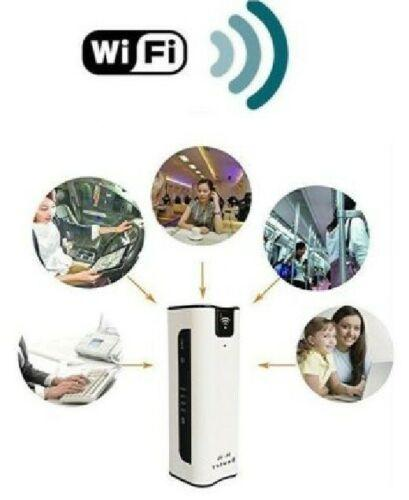ROUTER WI FI 3G 4G WCDMA CON BATTERIA MODEM WIRELESS SIM UMTS PORTATILE