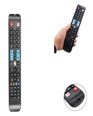 TELECOMANDO UNIVERSALE SAMSUNG COMPATIBILE LCD, LED, HDTV SMART COME ORIGINALE