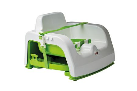 Seggiolone da Viaggio - Fisher-Price DMJ45 - Bianco/Verde fino a 15kg