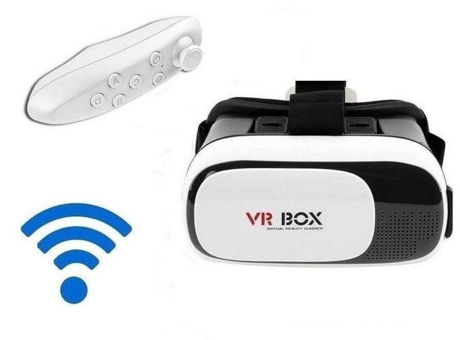 VR BOX 2.0 con Gamepad Bluetooth Occhiali 3D Realtà Virtuale Virtual Reality
