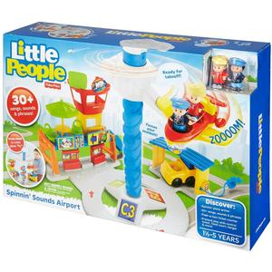 Little People Aeroporto Gioco Prima Infanzia - Mattel DGN26 Fisher-Price - 6+ mesi
