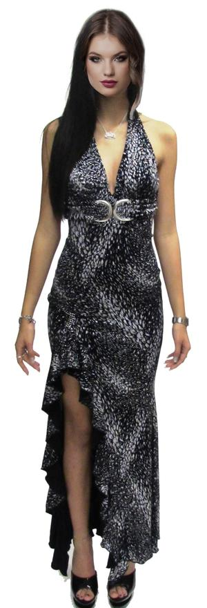 Copia di LONG DRESS WITH SPLIT IN AND UNGLUED BACK 4-0095