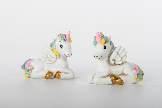 Unicorno in due modelli assortiti, linea Cuordincanto