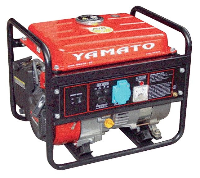 Moto generatore di corrente gb312 4t yamato 91545 for Amazon gruppi elettrogeni