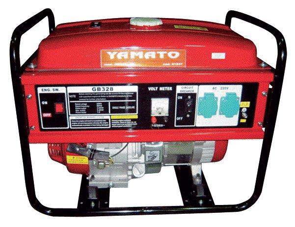 Moto generatore di corrente gb328-4t yamato 91547