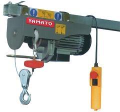 Paranchi elettrici a fune 250/500 kg 91422 PARANCO elettrico YAMATO KG 250-500 CAVO DA 18/9 MT