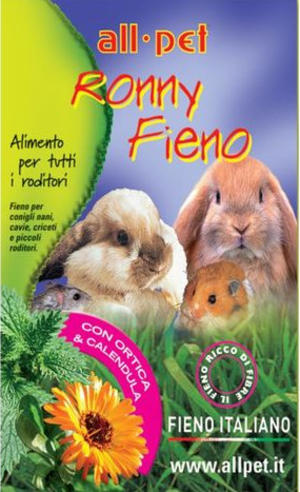 All Pet Ronny Fieno con Ortica & Calendula