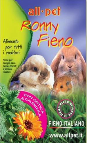 All Pet Ronny Fieno con Ortica & Calendula