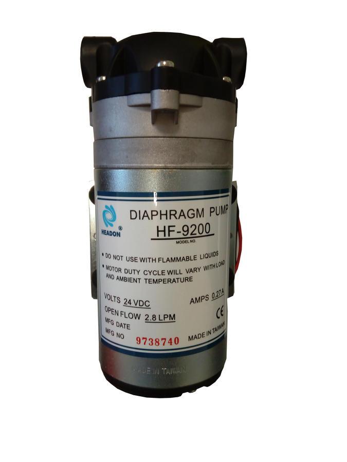 Pompa membrana 24 V DC 2,8 litri al minuto
