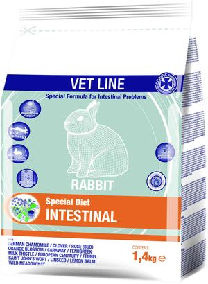 Cunipic VET LINE Intestinal - 1,4 Kg.