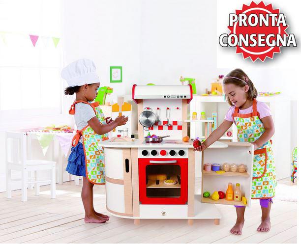 Cucina Multifunzione per Bambini in Legno Hape