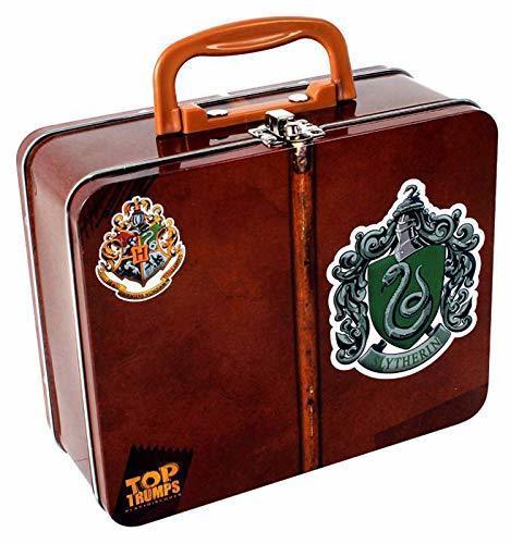 Gioco Carte  Harry Potter  - Valigetta Serpeverde in metallo - Top Trumps 565SUN 3+ anni