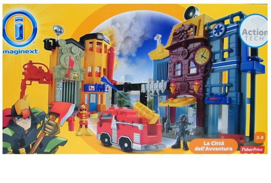 Imaginext La città dell'avventura - Fisher-Price BGX04  3-8 anni