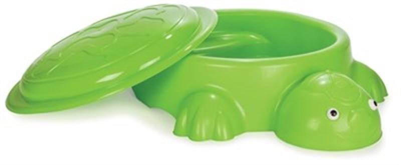Sabbiera Piscina Tartaruga Pilsan 06 097 Verde con coperchio 12+ mesi